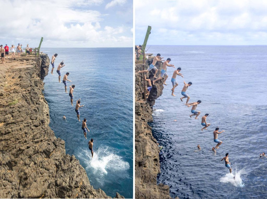 South Point Cliff Jumping