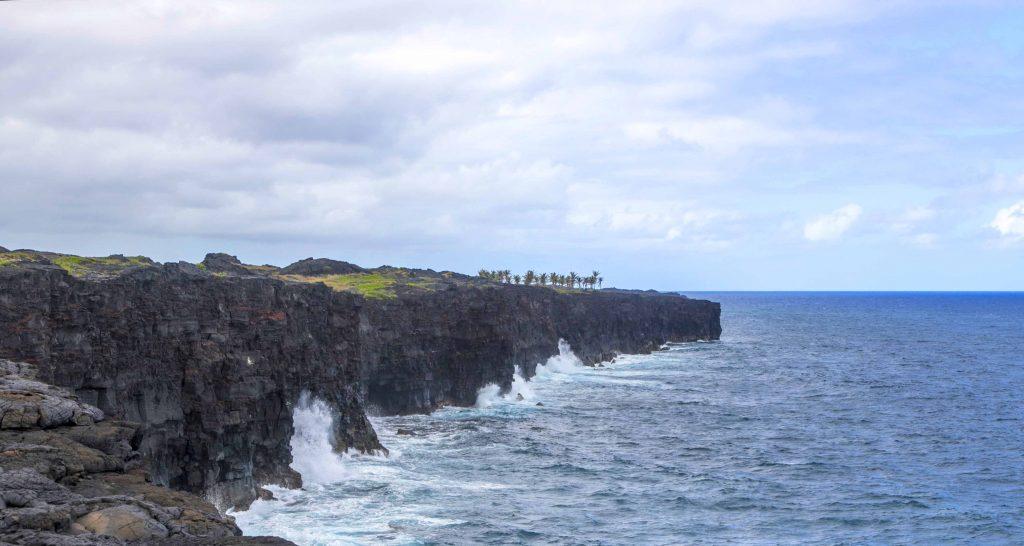 Sea Cliff near Holei Sea Arch
