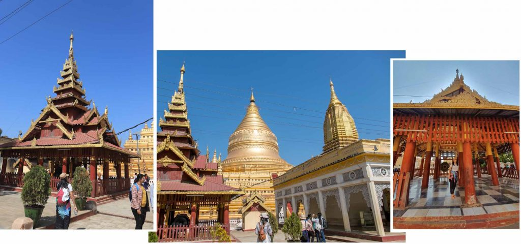 Other structures around Shwezigon pagoda