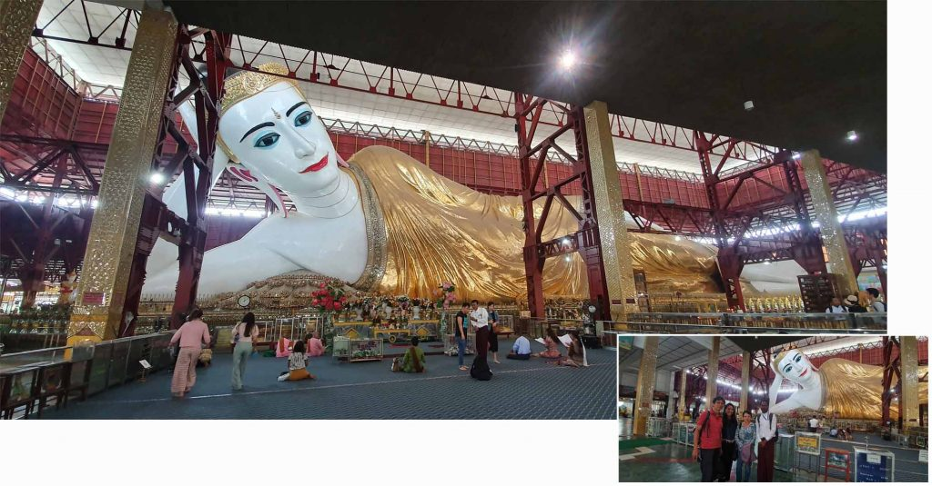 Inclining Buddha
