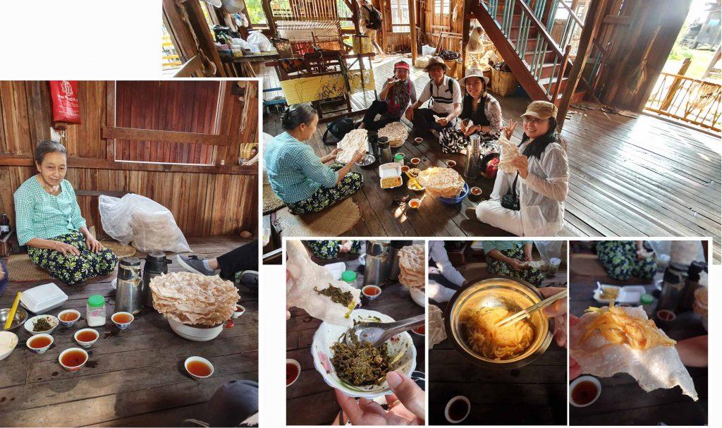 Myanmese Tea Break