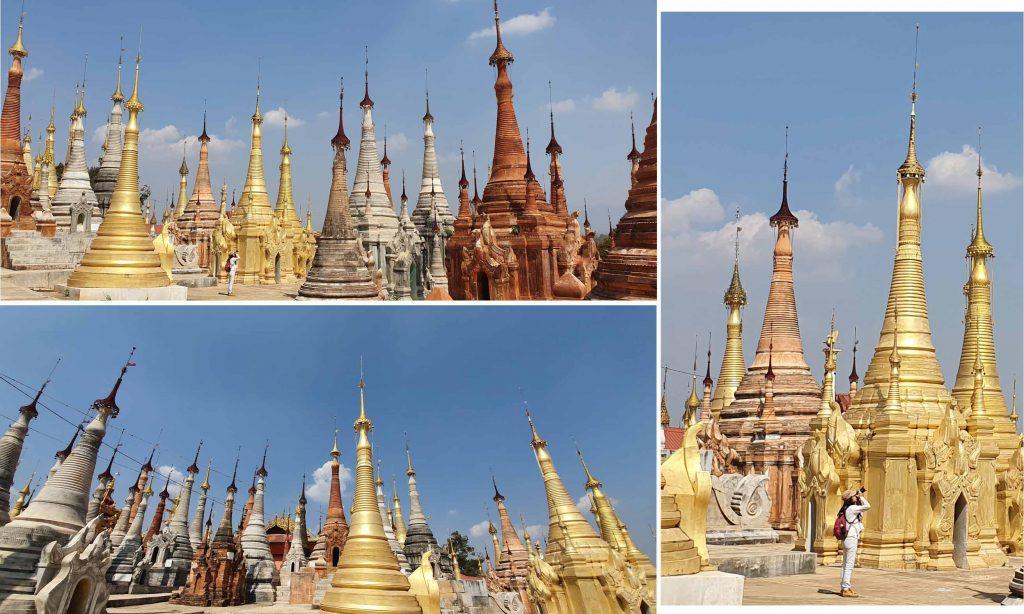 Stupas, stupas all round us