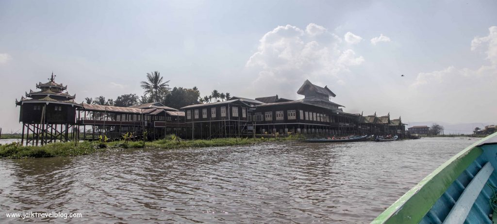 another temple on Inle Lake
