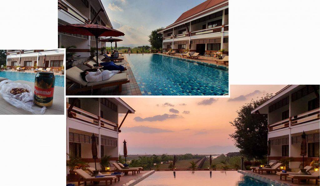 Poolside of Ananta Inlay Resort