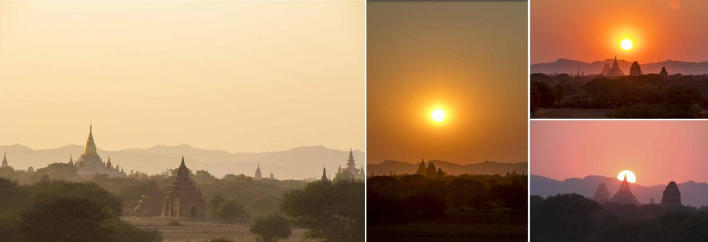 Gorgeous Sunset at Bagan