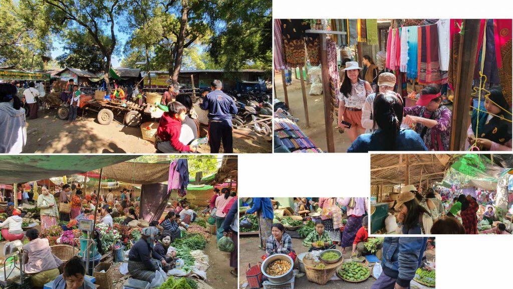 Bagan local market