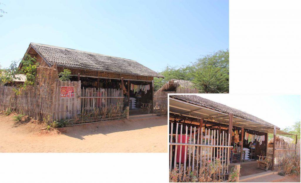 Local convenient shop in the village