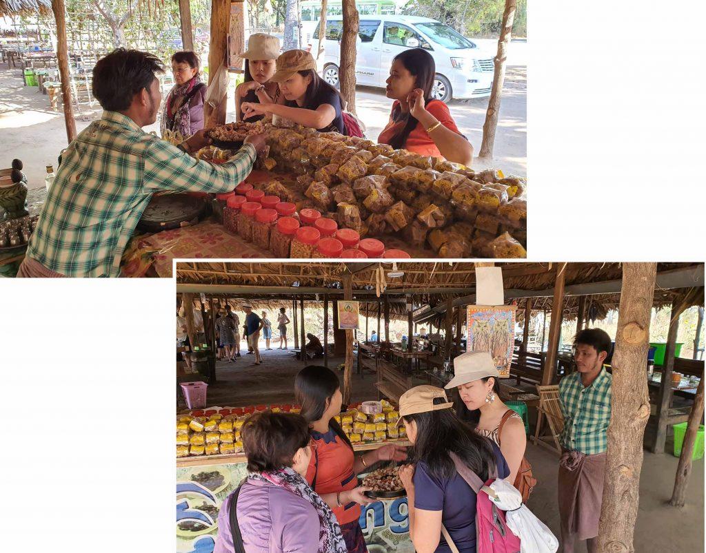 Buying some palm sugar