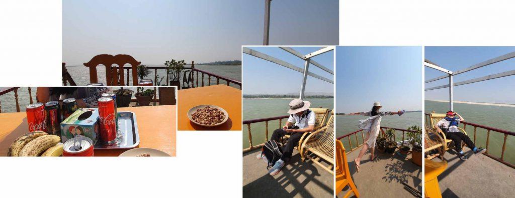 Boat ride back to Mandalay