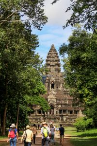 One of the Five towers of Angkor Wat