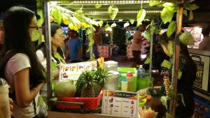Fruit Drink stall at Night Market