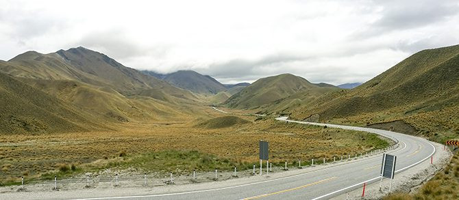 Day 15: Lindis Pass & Lake Pukaki