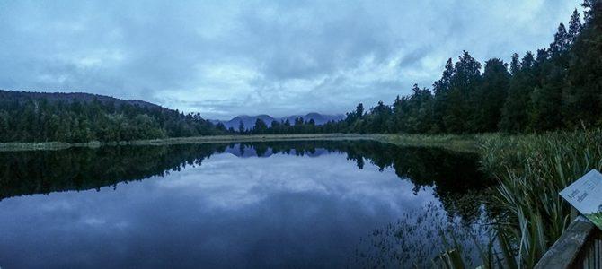 Day 5: Punakaiki Blow Holes & Lake Matheson