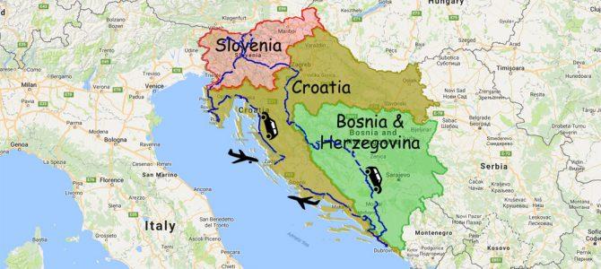 Croatia, Slovenia, Bosnia & Herzegovina Summed up