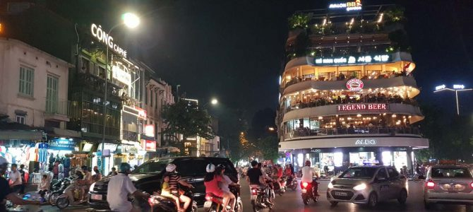 Day 1: Arriving in Hanoi